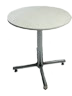 Table ronde blanche 30x30
